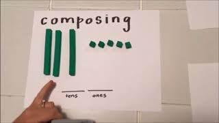 Composing & Decomposing Numbers, Place Value - Kindergarten