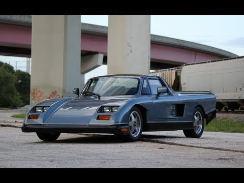 1990 Mosler Consulier Targa LX Test Drive Video