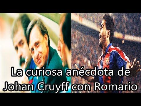 La curiosa anécdota entre Johan Cruyff y Romario | Fútbol Social