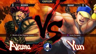 SSF4: AE - Infiltration vs Ryan Hart - Winners Finals - Final Round 17