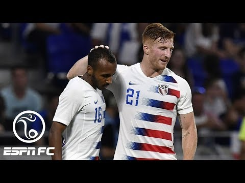 USMNT denied shock win vs. France by late Kylian Mbappe goal | ESPN FC