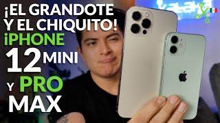 iPhone 12 Mini y 12 Pro Max, UNBOXING en MÉXICO del iPhone más pequeño y el más enorme