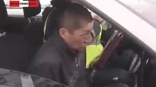 Пьяный за рулем прикол ржал не мог