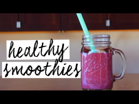 Video WEIGHT LOSS SUPER SMOOTHIE RECIPES!