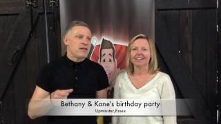 Bethany & Kane's birthday party