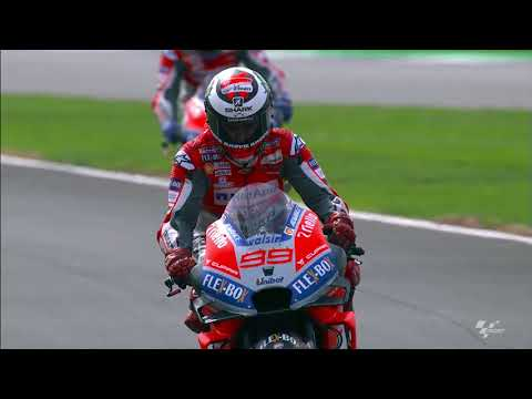 Ducati talk about the British GP