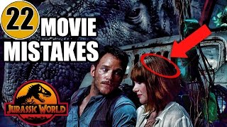 22 Mistakes of JURASSIC WORLD You Didn't Notice - dooclip.me