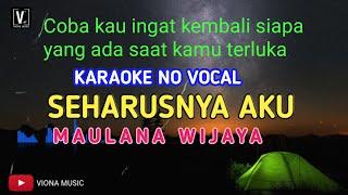 Maulana Wijaya Coba Kau ingat Ingat Kembali Karaoke...
