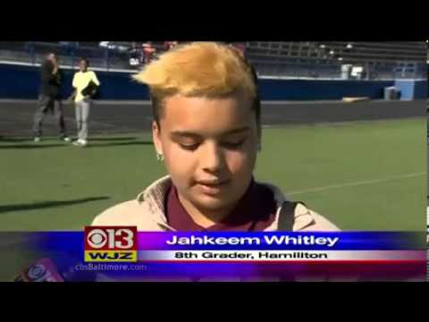 The Ingenuity Project Rocket Launch 2013 on WJZ