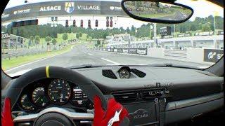 GT Sport VR - Porsche GT3 RS @ Alsace Village
