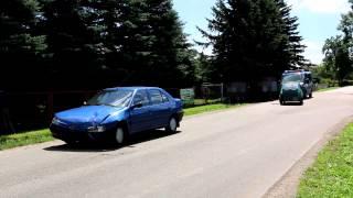 Kolizja dwóch samochodów w Zręcinie
