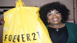 Forever 21 Plus Size   Haul & Try On
