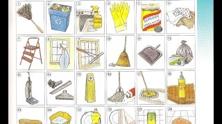 Download Oxford dictionary | Lesson 35: Cleaning Supplies | Learn