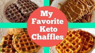 Keto Chaffles - My 4 Favorite Ways to Make a Chaffle