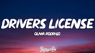 Olivia Rodrigo - drivers license (Clean-Lyrics)