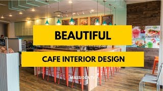 50+ Beautiful Cafe Interior Design Will Make You Love It