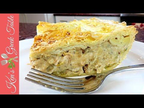 How To Make Kotopita   Greek Chicken Pie Recipe