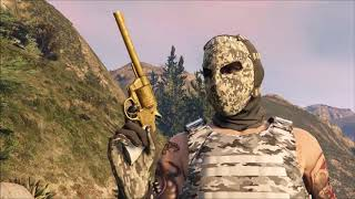 GTA How To Get The Golden Revolver And $250,000