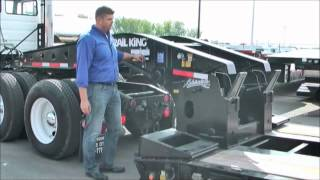 How To: Attach Your 55 Ton Lowboy Trailer