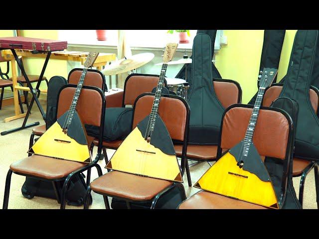 Инструменты школы искусств №3 зазвучали по-новому