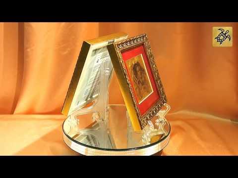 Подарок знак Зодиака ОВЕН - картины из сусального золота