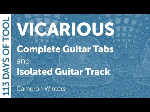 Tool - Vicarious - Guitar Cover - 113 Days of Tool