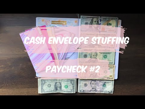 CASH ENVELOPE STUFFING | SEPTEMBER PAYCHECK 2 | DAVE RAMSEY INSPIRED BUDGETING