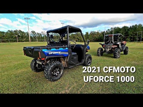 2021 CFMOTO UForce 1000 in Monroe, Washington - Video 2