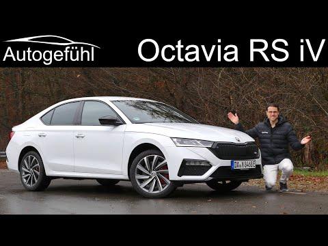 Is the new performance Plugin-Hybrid the best vRS? Skoda Octavia RS iV FULL REVIEW 2021