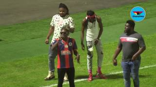 Shatta Wale's electrifying performance in Kotoko's 3-1 win against Legon Cities FC