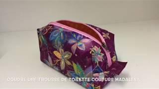 Coudre une trousse de toilette - Tuto Couture  Madalena