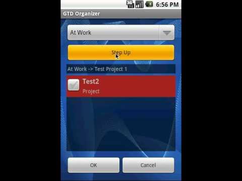 Video of GTD Organizer Free