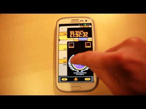 Video of Go Trek Animated Widgets
