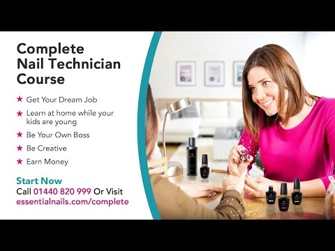 Complete Nail Technician Course with Essential Nails ... - YouTube
