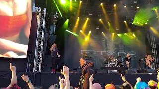 E-Type - Eurofighter LIVE [HD 60fps] @ Jysäri, Himos 2018