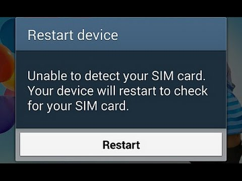How to fix  SIM Card Removed | Unable to Detect SIM Card on Samsung Galaxy S4