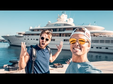 THE CRAZIEST YACHTS IN MONACO! | VLOG 200