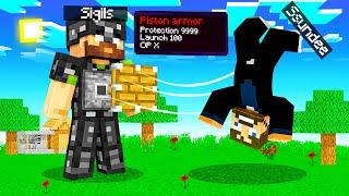 USING PISTON ARMOR in Minecraft (Hilarious)