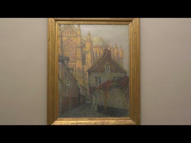 La Cathédrale de Beauvais au soleil couchant - Henri Le Sidaner - 1900