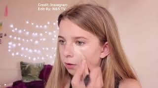 Девочки наносят макияж как профисионалы