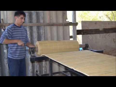 Fabricación Artesanal de Esteras de Junco