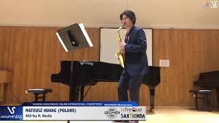 Mateusz HUANG plays Mäi by R. Noda #adolphesax