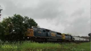 [HD] UP, Jingle Bells, Train Race & More! On CSX's Mohawk Subdivision Part 4