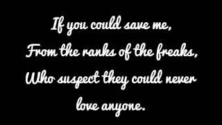 "Video thumbnail of ""Aimee Mann - Save me (lyrics)"""