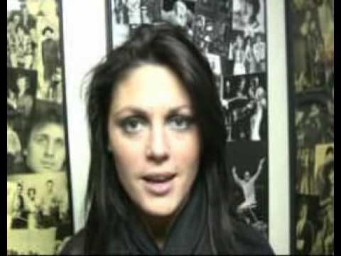 Schouwblog - Belle Perez backstage in Schouwburg Cuijk in 2008