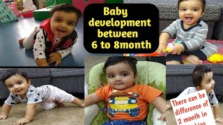 My 6month Old Baby Activities And Growth Development (Miggi Baby)