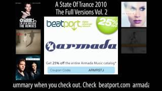 Beatport Sale: Armada Music - 4-10 October 2010