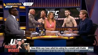 Skip and Shannon: Would you want to see McGregor fight Khabib again? | Undisputed 10/09/2018