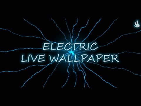 Video of Electric Live Wallpaper