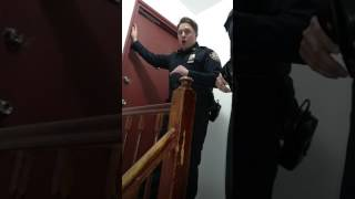 NYPD police respond they wont open the door to verify heat 12 18 161
